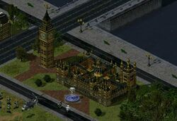 Parliament House in Yuri's Revenge, occupied by Allied GIs.