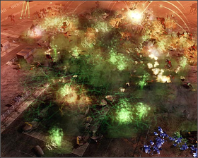 The destruction of GDI's Tiberium Facility was something no mortal was meant to see