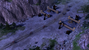The Nod stealth strike team moving into the complex
