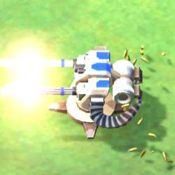 CNCRiv Minigun Turret engage.png