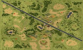 The four player map of Golden State Freeway.