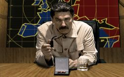 Eugene Dynarski as Joseph Stalin