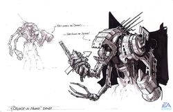 Concept art by T. J. Frame