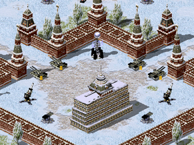 The Kremlin, protected by the Black Guard