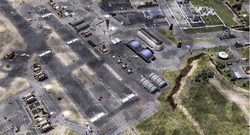 Andrews AFB as seen by a scout drone
