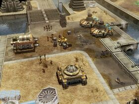 The Ion Cannon uplink outpost