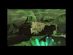 Kodiak on ground during ion storm
