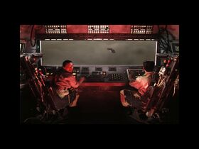 Kodiak's crew approaches unidentified aircraft, Nod Banshees