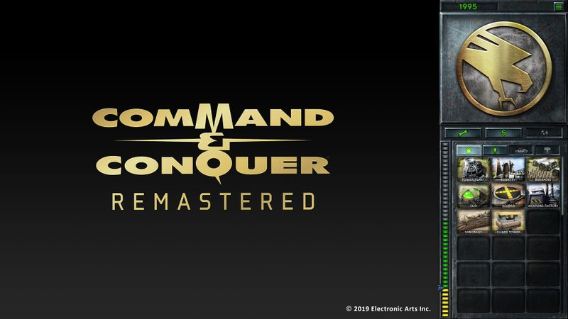 Command & Conquer Remastered Collection (PC)-cover game/capa de jogo!