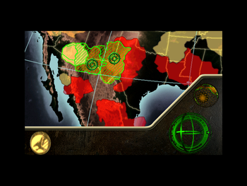 GDI's two mission choices to defeat Nod.