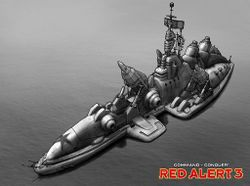 The Dreadnought, the most famous product of the Citizens Shipyard