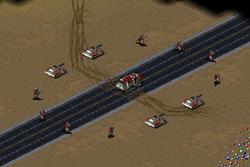 Soviet task force arriving in Morocco