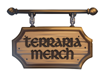 Click here to shop for awesome Terraria Merch!