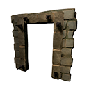 Reinforced Stone Doorframe