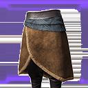 极佳的西米里亚人毛皮裙甲