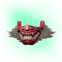 Flawless Yamatai Demon Mask