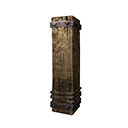 Insulated Wooden Pillar