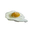經過烹製的蛋