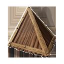 Wooden Sloped Roof Corner