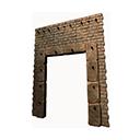 加固的石制入口