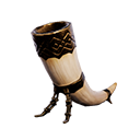 Ivory Drinking Horn