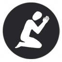 Pray Sitting