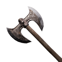 Flawless Iron War Axe
