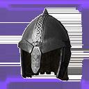 极佳的西米里亚钢制头盔