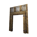 Insulated Wooden Gateway