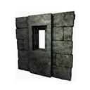 Black Ice-Reinforced Wooden Frame
