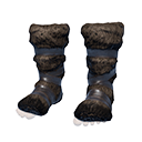 Flawless Hyena-fur Boots