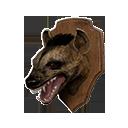 鬣狗头战利品