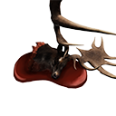 Elk King Head