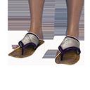 Stygian Sandals