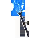 巫火挂壁式火把