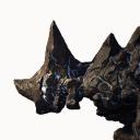 Silberader-Steinnasenkadaver