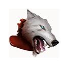 Dire Wolf Head