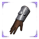 Flawless Cimmerian Steel Gauntlets
