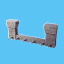 Aquilonian Crenelated Wall