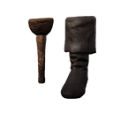 海盗假腿(左腿)