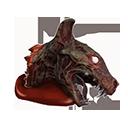 Undead Hyena Head