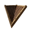 Inverted Wooden Sloped Roof Corner Official Conan Exiles