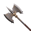 Flawless Hardened Steel War Axe