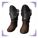 Flawless Cimmerian Steel Boots