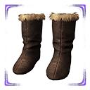 Exceptional Cimmerian Fur Boots