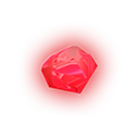 Glowing Red Gem