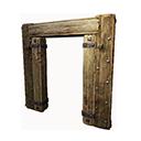 Insulated Wooden Doorframe