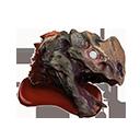 Demonic Shaleback Head