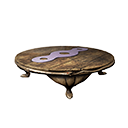 Round Stygian Table