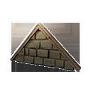 加固的石墙顶盖
